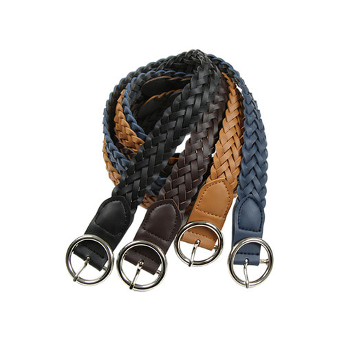 circle twist belt (4color)