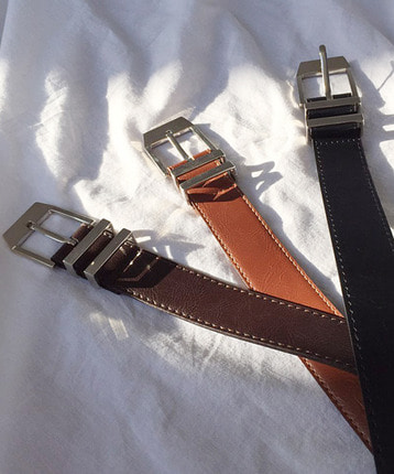 Two metal belt (3color)