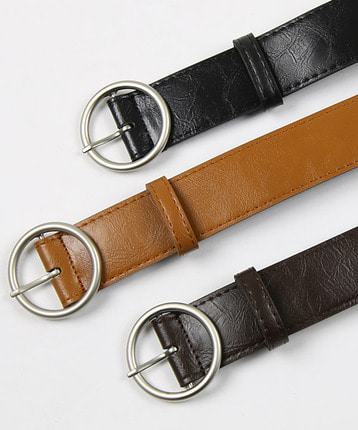 unique circle belt (3color)