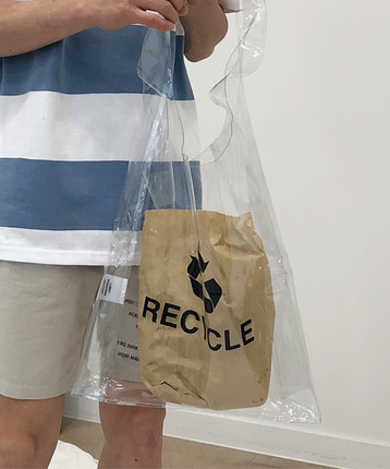 RECYCLE PVC BAG