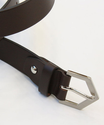 pentagon buckle belt