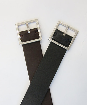 square big buckle belt