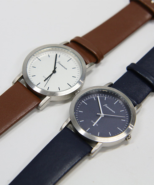 101 Analogue leather watch